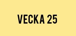 Veckans bästa låtar | V.25